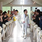 Terrace on The Garden:運命の場所で叶える念願の結婚式。1日2組限定のプライベート感のあるホテルはふたりの物語が始まった場所