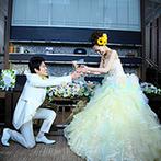 室町ステージ Muromachi Stage THE SCREEN:ふたりの想いを理解し、希望を形にしてくれたスタッフ達。親身な対応のおかげで運命のドレスに出会えた