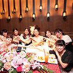 ウェディングレストラン ALAISE:ニューヨークのレストランをモチーフにしたお洒落なパーティ会場。美味しい料理に喜びの声が続々!