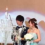 THE GRIGHT(ザ・グライト):短期間で希望をいくつも叶えてくれたプランナー。明るく優しいスタッフに囲まれ、幸せな結婚式を迎えられた