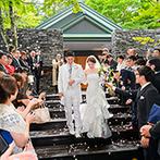 旧軽井沢ホテル:『森を庭に持つホテル』として軽井沢でも人気!新しくなったチャペルや会場、料理の美味しさなど魅力が満載