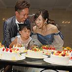 Angerobe Journée(アンジェローブ ジェルネ):当日は娘の誕生日!バースデーケーキデザインコンテストも行われ、より思い出深いファーストバイトが実現