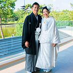 KOTOWA 奈良公園 Premium View:世界遺産の奈良公園を望む贅沢なロケーションが心を掴んだ。県外ゲストが観光気分で楽しめる結婚式を