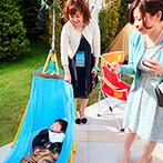 ANELLI 長岡(アネーリ 長岡):一人ひとりがアーティスト気分で楽しんだひと時。ガーデンもパーティ会場も自由に飾ってオリジナリティ満載