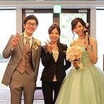 ラ・スイート神戸オーシャンズガーデン:プロ意識の高いスタッフのおかげで、楽しんで理想の結婚式を創ることができた。当日は感謝を伝える演出も