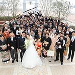 ラ・スイート神戸オーシャンズガーデン:県外ゲストにも楽しんでもらえる、神戸のランドマークを一望できるオーシャンビューチャペルに一目ぼれ!