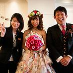 ラ・スイート神戸オーシャンズガーデン:一人ひとりにふさわしい配席を共に考え、理想のヘアメイクが叶うまで付き合ってくれた柔軟な対応力にも感謝