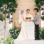 Arc-en-Ciel KANAZAWA (アルカンシエル金沢):洗練された大人の雰囲気が漂うナチュラルなチャペルに一目惚れ。リゾート感あふれるパーティ会場も好み