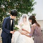 Arc-en-Ciel KANAZAWA (アルカンシエル金沢):ゲストや家族へ感謝の気持ちを伝える、オンリーワンのセレモニー。型にはまらずふたりの想いを大切にした