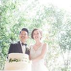 赤坂プリンス クラシックハウス:大切な日に家族が自然と集う、リビングルームのような温かな空間。テラスでケーキ演出や撮影タイムを満喫