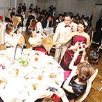 The 33 Sense of Wedding(ザ・サーティスリー センス・オブ・ウエディング):天空に佇む非日常空間でのおもてなし。東京・九州から足を運んでくれた遠方ゲストにも直接感謝を伝えた
