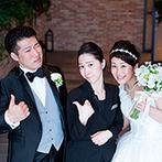 The 33 Sense of Wedding(ザ・サーティスリー センス・オブ・ウエディング):準備から本番まで支えてくれたプランナーに感謝。両親へのきめ細やかなサポートで安心してお任せできた