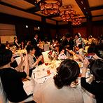 ラグナヴェール 金沢(LAGUNAVEIL KANAZAWA):ブラウンが基調の心安らぐ空間で、美食を堪能。サプライズインタビューでは、懐かしい話に全員で笑い合った