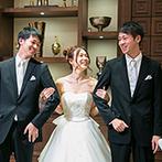 ラグナヴェール 金沢(LAGUNAVEIL KANAZAWA):「ゲストに感謝を伝えたい」という想いを表現。家族との触れあいも盛り込み、温かなひと時を満喫した