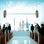 THE SURF OCEAN TERRACE(ザ・サーフ オーシャンテラス):海が見えるウエディングの舞台で、リゾートムード漂う憧れの結婚式。プランナーの人柄にも惹かれて決定!
