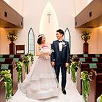 南青山サンタキアラ教会:プランナーの助言でお気に入りのドレスを発見。当日のキャプテンが機転を利かせた提案も嬉しかった