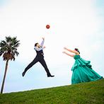 ラフィネ・マリアージュ迎賓館:バスケットボールのロケーション撮影も叶えてくれた。真心いっぱいのスタッフに惹かれ、すぐに心を決めた