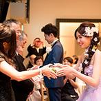 インフィニート 名古屋:大人の雰囲気漂う会場がパーティの舞台。言葉だけでなく、サプライズやプレゼントにも感謝を込めた