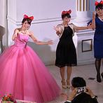 LA POLTO(ラ ポルト):映画グッズを大胆に飾ったちらし寿司ケーキがゲストに好評。賑やかなサプライズ演出で一体感のあるひと時