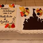 ラ・ブランシュ富山:大好きな物語に登場するような邸宅でプリンセスに!お城のシルエットがドラマティックなBOOK型ケーキも