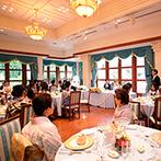 ラ・ブランシュ富山:笑顔が似合う明るい邸宅でアットホームなひと時を。吟味したフレンチのフルコースはどれも美味しいと好評!