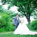 大阪城西の丸庭園 大阪迎賓館:信頼できるプランナーやスタッフのおかげで準備もスムーズ。当日の祝福のサプライズは忘れられない思い出に