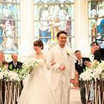 ザ ストリングス 表参道:ふたりで歩む未来に向けて、最良のスタートとなる結婚式。頼れるスタッフがいる会場なら準備期間も安心