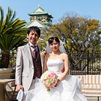THE LANDMARK SQUARE OSAKA(ザ ランドマークスクエア オオサカ):大阪城を望むロケーションと歴史的建造物に惹かれ即決!スタッフとの相性や貴賓室が使えることもポイントに