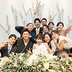 アヴァンセリアン大阪(AVANCER LIEN OSAKA):新婦の想いに涙を浮かべて共感し、温かく支えてくれたプランナーに感謝。当日の細やかな対応にも絶賛の声が