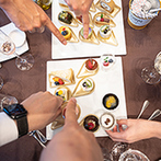 アヴァンセリアン大阪(AVANCER LIEN OSAKA):ゲスト同士が行き交わず、卓上で選べるデザートビュッフェは新しい形。満足度と安心感が大きいおもてなしを