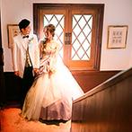 北野異人館 旧クルペ邸:本物のアンティークが薫る貸切邸宅でアットホームな結婚式を。ゲストの笑顔を引き出せる絶品料理も決め手