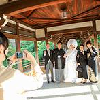 平安神宮会館(国指定名勝神苑):千年の都・京都の伝統を受け継ぐ、日本の結婚式。神前式から披露宴まで、信頼ある平安神宮に一任することに