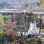 ザ グランダブリュー 水戸(THE GRAND W MITO):新しくオープンする自然豊かな会場に心を奪われた。料理や衣裳に加え、ゲスト送迎などホスピタリティも充実