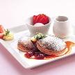 秋田キャッスルホテル:【CafeTIME】午後からゆっくり♪パンケーキ付Wフェア