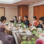 秋田キャッスルホテル:サロンで|親族・家族中心の少人数アットホームWフェア