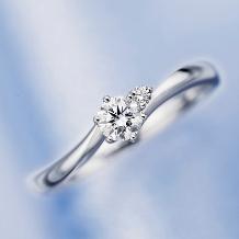 ヴァンドーム青山_【数量限定】秘密のハートが秘められたプロポーズにピッタリのエンゲージリング