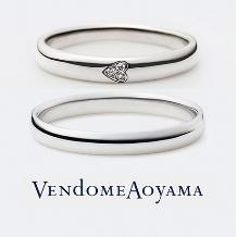ヴァンドーム青山の婚約指輪&結婚指輪