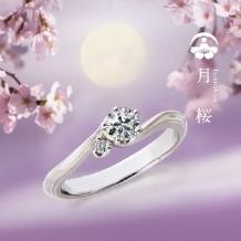 JEWELRYサカグチ天神本店_【杢目金屋】月桜