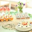 Sayagatani garden aglass(鞘ヶ谷ガーデン アグラス):【パパママ婚もおまかせ♪】森のスイーツ付ウィークデーフェア☆