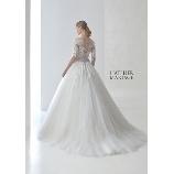 Lazy Cinderella:【NEW】繊細なレース・ビージングで可憐なウェディングドレス