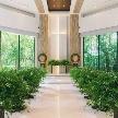 八芳園:【無料試食】緑あふれる独立型チャペル模擬挙式×和洋の会場見学