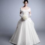 フェリーチェマツエダ・ハービスブティック:エリ松居◆デコルテラインが綺麗!人気の定番ラインの新作ドレス