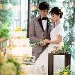 来年3月までの30名以上の限定プランで質を落とさずコストパフォーマンスの良い結婚式ができます。挙式・ケーキ・衣裳等10個の特典+ふたりの好みに合わせて選べる2つの特典で計12個の特典がつくのが嬉しい!