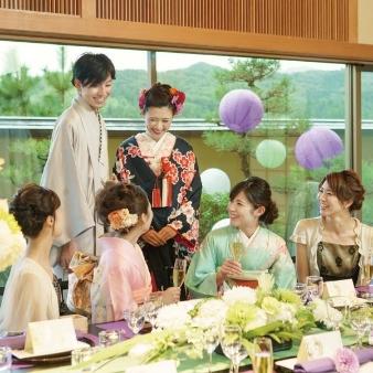 Japanese Resort Wedding SENKEI&KAHOU(ホテル泉慶・華鳳):【最高ランクの料理でおもてなし】少人数で叶えるW相談会