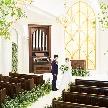 セントジェームスクラブ迎賓館仙台:【全館リニューアル完成】緑と光のチャペル*圧巻の感動挙式体験