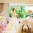【月曜限定】衣裳はこだわりたい!という花嫁様必見☆会場内に併設しているドレスショップでの試着で当日のイメージを膨らませよう☆このフェアからご予約の方限定特典「衣裳料金20万円分プレゼント」も魅力的!