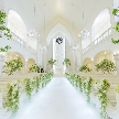アルカンシエルガーデン名古屋:【花嫁満足度No1】2つのチャペルで挙式体験×婚礼コース無料試食