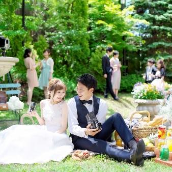マリエール函館:【ドレス試着&ヘアメイク体験フェア】ガーデンフォト体験♪