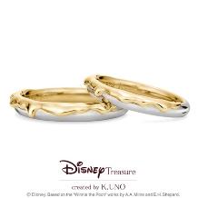 K.UNO BRIDAL(ケイウノ ブライダル):[Disney] くまのプーさん / マリッジリング