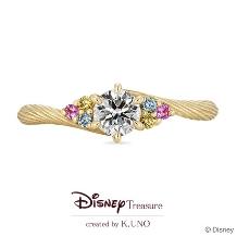 K.UNO BRIDAL(ケイウノ ブライダル):[Disney] ラプンツェル / エンゲージリング